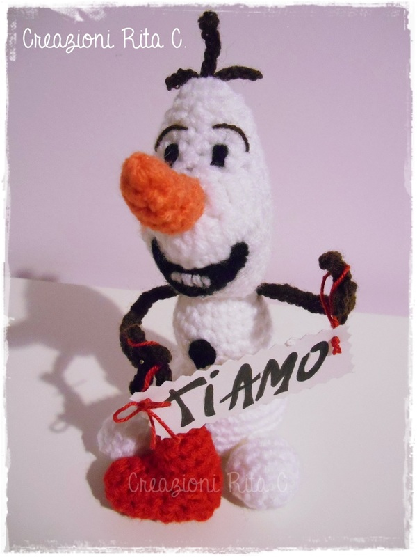 Frozen Inspired Olaf - Like Crochet Snowman Body Tutorial Part 1 ... | 800x600